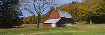 Barn in a field, Sleeping Bear Dunes National Lakeshore, Michigan, USA von Panoramic Images