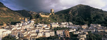 Buildings on a hillside, Cazorla, Andalucia, Spain von Panoramic Images