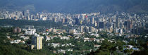 High angle view of a city, Caracas, Venezuela 2010 by Panoramic Images