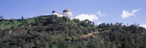 Observatory on a hill, Griffith Park Observatory, Los Angeles, California, USA by Panoramic Images