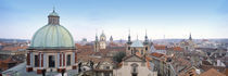 Church in a city, Prague, Czech Republic von Panoramic Images