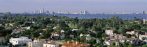 High Angle View Of The City, Miami, Florida, USA by Panoramic Images