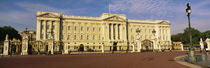 Facade of a palace, Buckingham Palace, London, England by Panoramic Images