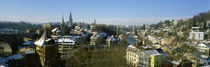 High angle view of a city, Berne, Switzerland von Panoramic Images