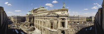 High Angle View Of Opera Garnier, Paris, France von Panoramic Images