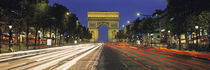 Arc De Triomphe, Paris, France by Panoramic Images