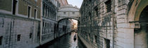 Bridge on a canal, Bridge Of Sighs, Grand Canal, Venice, Italy by Panoramic Images