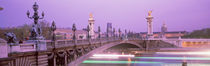 Bridge over a river, Seine River, Paris, France by Panoramic Images