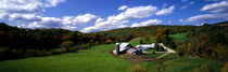 Panorama Print - Farm, Ryegate, Vermont, USA von Panoramic Images