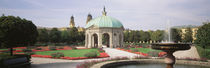 Gazebo In The Garden, Hofgarten, Munich, Germany by Panoramic Images