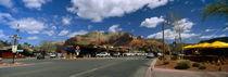 Cars at the roadside, Sedona, Coconino County, Arizona, USA by Panoramic Images
