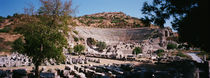 Turkey, Ephesus, main theater ruins by Panoramic Images