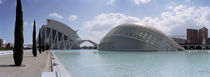Ciutat de les Arts i les Ciencies, Valencia, Valencia Province, Spain by Panoramic Images