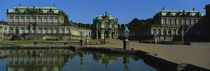 Reflection Of Buildings On Water, Zwinger Palace, Dresden, Germany von Panoramic Images