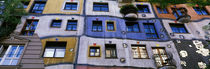 Low angle view of a building, Kunsthaus, Wien, Vienna, Austria by Panoramic Images