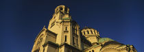 Low angle view of a cathedral, St. Alexander Nevski Cathedral, Sofia, Bulgaria by Panoramic Images