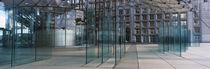 Glasses with a canopy, Grande Arche, La Defense, Paris, Ile-de-France, France by Panoramic Images