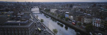 High angle view of a city, Dublin, Leinster Province, Republic of Ireland von Panoramic Images