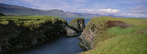 Water Flowing From The Valley, Snaefellsnes Peninsula, Iceland von Panoramic Images