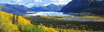 Mantanuska Glacier AK USA by Panoramic Images