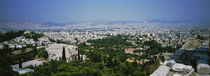 High angle view of a city, Acropolis, Athens, Greece by Panoramic Images