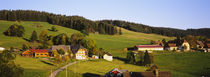 High Angle View Of A Village, Schwarzwald, Baden-Württemberg, Germany von Panoramic Images