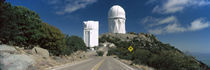 Road leading to observatory, Kitt Peak National Observatory, Arizona, USA von Panoramic Images