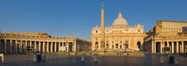 St. Peter's Square, Vatican city, Rome, Lazio, Italy by Panoramic Images