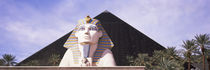 Statue in front of a hotel, Luxor Las Vegas, The Strip, Las Vegas, Nevada, USA by Panoramic Images