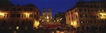 Trinita dei Monti, Rome, Italy by Panoramic Images