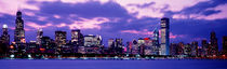 Sunset Chicago IL USA by Panoramic Images