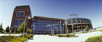 Facade of a stadium, Lambeau Field, Green Bay, Wisconsin, USA by Panoramic Images