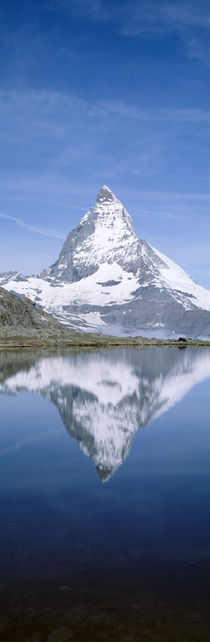 Lake, Mountains, Matterhorn, Zermatt, Switzerland by Panoramic Images