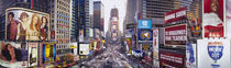 Dusk, Times Square, NYC, New York City, New York State, USA by Panoramic Images