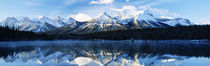 Herbert Lake, Banff National Park, Alberta, Canada von Panoramic Images