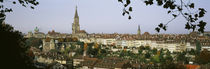 High angle view of a city, Berne, Switzerland by Panoramic Images