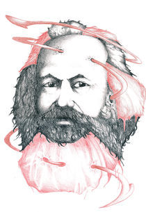 Portrait: Marx by Edin Hendo