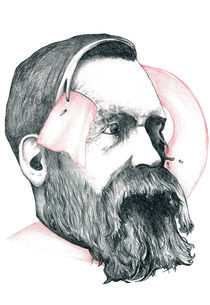 Portrait: Friedrich Engels by Edin Hendo