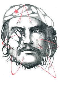 Portrait: Ernesto Che Guevara von Edin Hendo