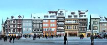 Erfurt Domplatz - Thüringen Panorama von street-panorama