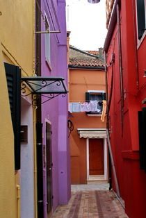 Colours of Burano by Julie Hewitt