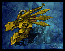 "Steampunk Dragon by Gosia ""Firewarrior"" Stopinska"