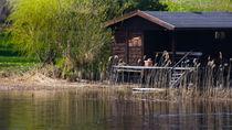 Hütte am See by stelda