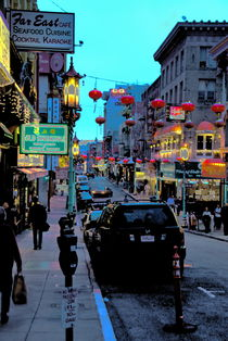 Chinatown, San Francisco by Julie Hewitt