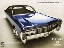 'Chrysler Imperial le baron hardtop 1974' by Evgenij Kiselev