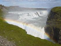 The Gullfoss waterfall in Iceland von William Lee