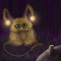 Strange forest by Ann Cieslik