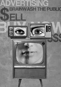 TV brainwash by Renato Marinho