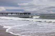 stürmische Ostsee von Norbert Fenske