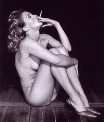 Smoking Woman - Duplex von captainsilva